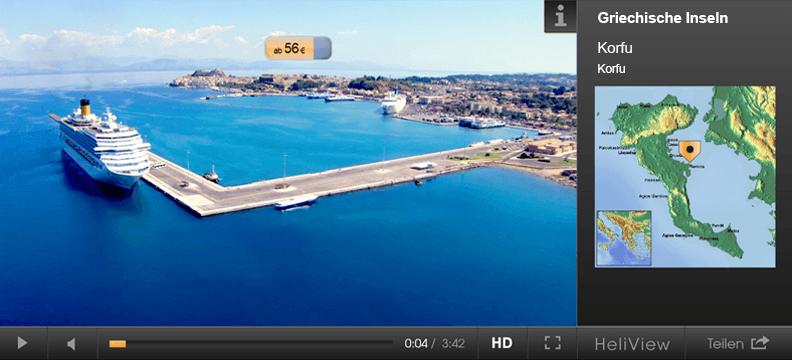 Korfu, jetzt online