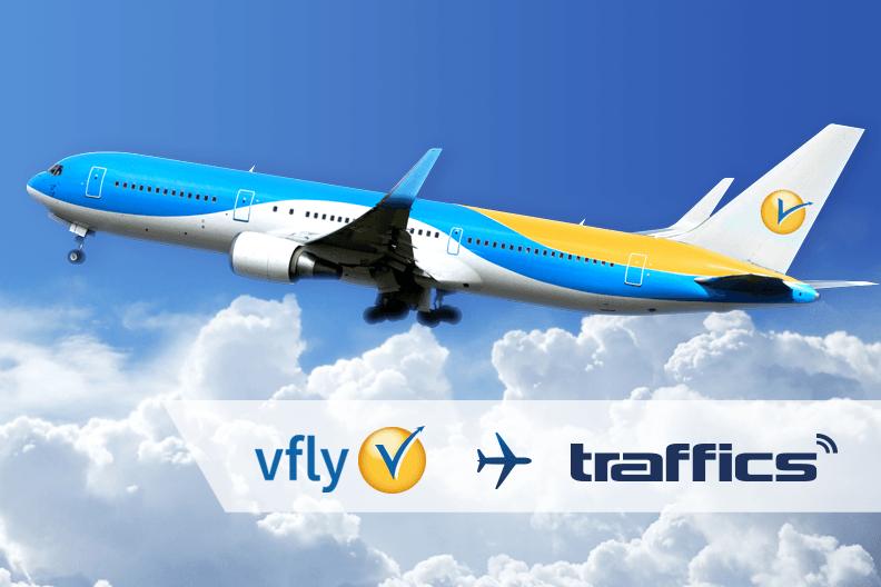 vfly fliegt auf traffics:
