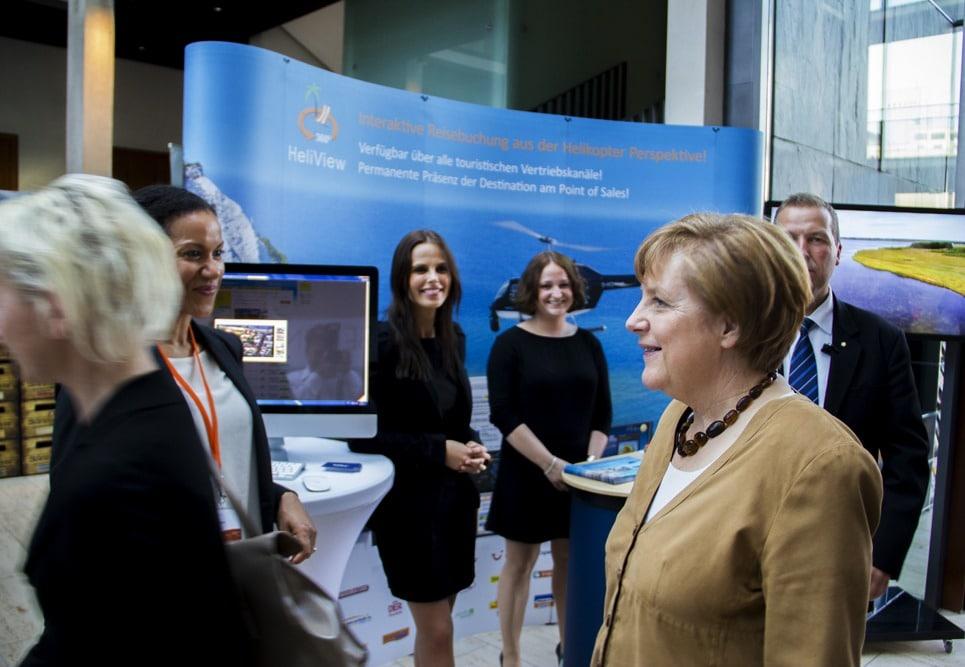 HeliView Angela Merkel Rúgen