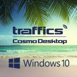 Cosmo auf dem neuesten Stand: Das Vergleichs- und Buchungssystem aus dem Hause traffics können Nutzer auch unter Windows 10 wie gewohnt verwenden