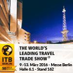 Einladung: Wir sind dabei! ITB 2016 – Eine Welt. Eine Branche. Eine Messe.