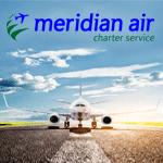 Meridian Air Charter Service über traffics buchbar!