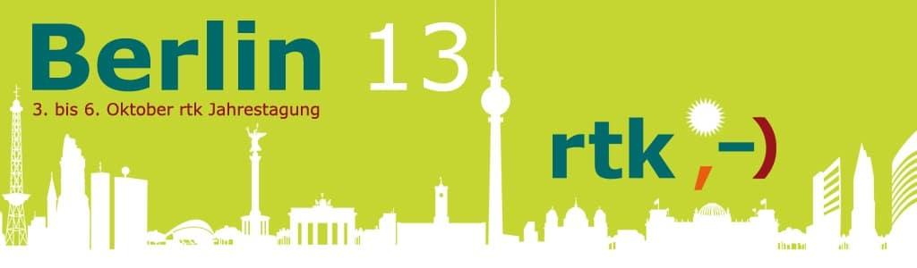 header rtk Jahrestagung 2013