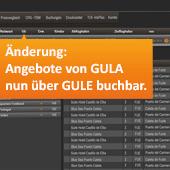 GULA / GULE Veranstaltercode Änderung