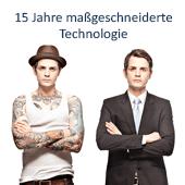 15 Jahre maßgeschneiderte Technologie